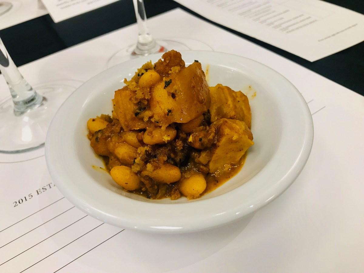 Fabada, a Spanish bean stew