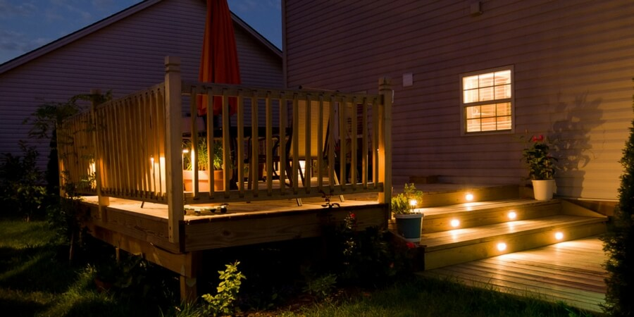 how to light your outdoor space the