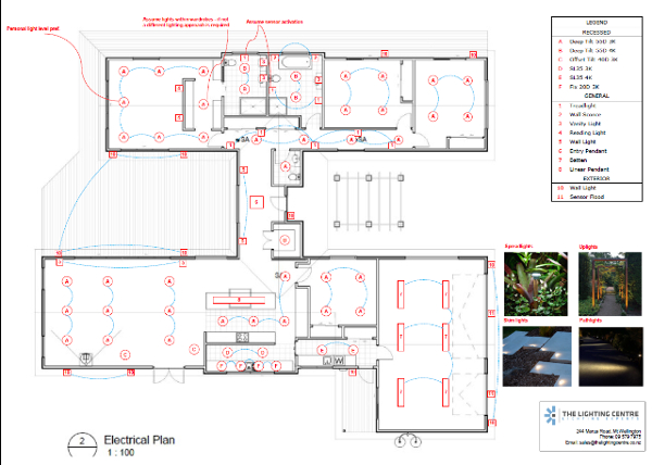 architectural lighting design available