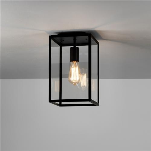 Homefield Textured Black Ip23 Exterior Porch Light 1095021 7956 The Lighting Superstore