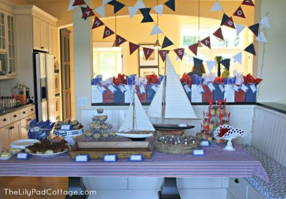 Ahoy It's A Boy baby shower theme for boys