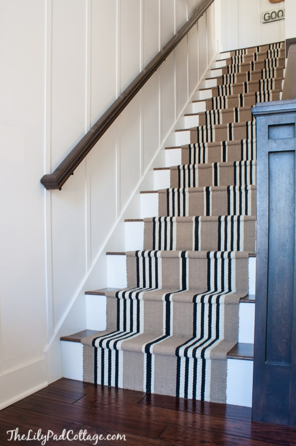Stairway Makeover Swapping Carpet For Laminate The Lilypad Cottage | Best Way To Carpet Stairs | Hardwood | Carpet Cleaning | Install | Wooden Stairs | Stair Runner