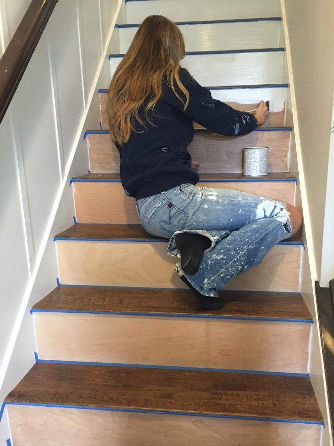 Stairway Makeover Swapping Carpet For Laminate The Lilypad Cottage | Heavy Duty Stair Carpet | Stair Runners | Stair Treads Carpet | Stair Risers | Rug Gripper | Carpet Protector