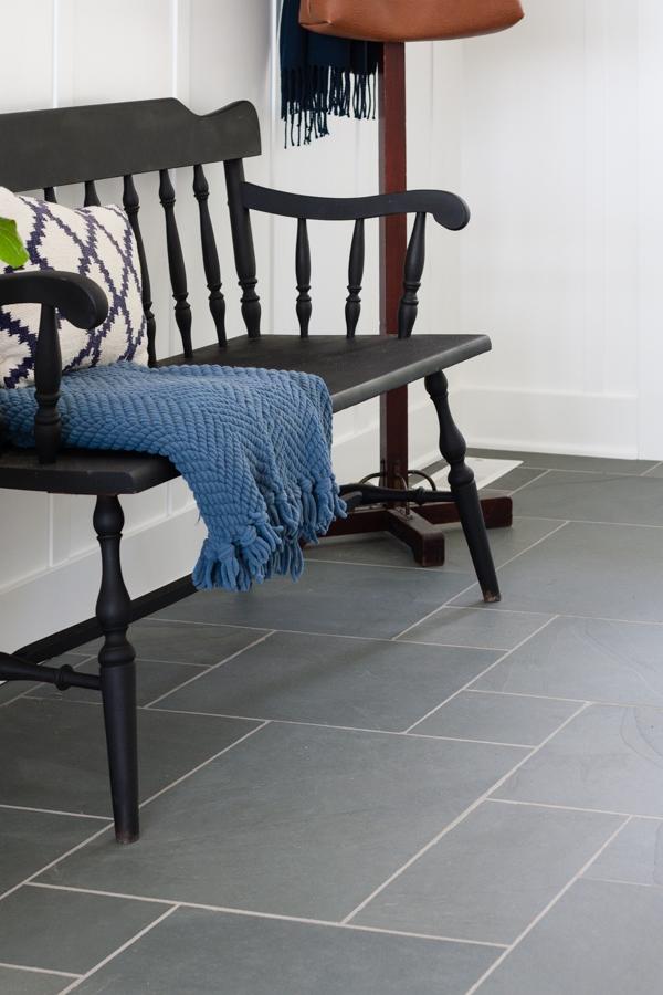 blue slate entry way tile the lilypad