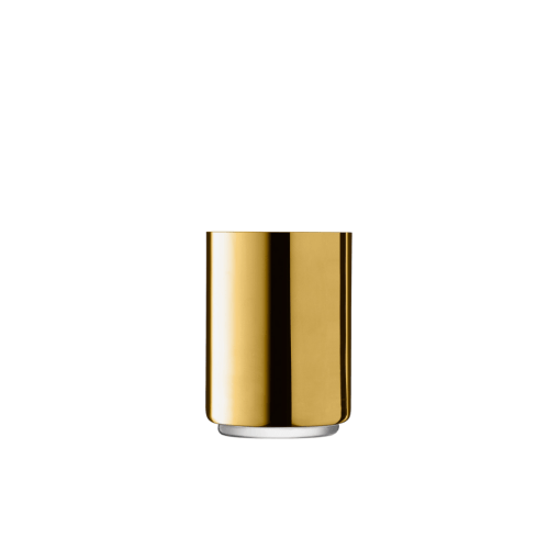 gold lantern vase