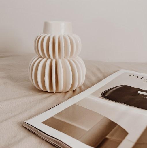 Halfdan stoneware vase