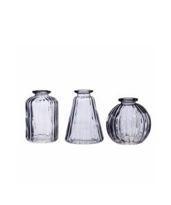 Grey Bud Vases