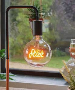 LED Text bulb
