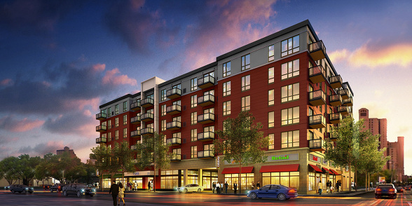 A 130 Unit Apartment Building To Replace Vacant Building