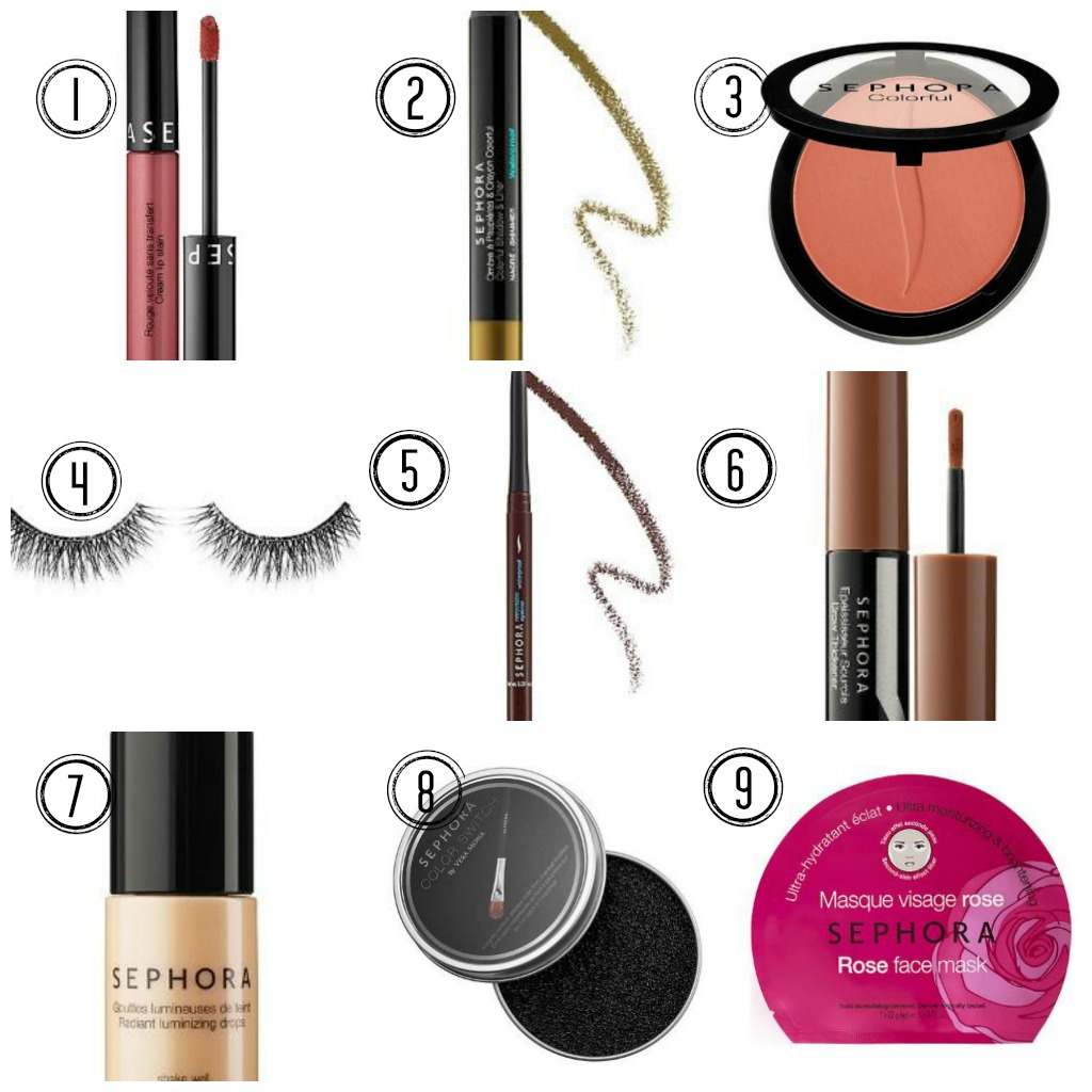 My Favorite Sephora Collection Products