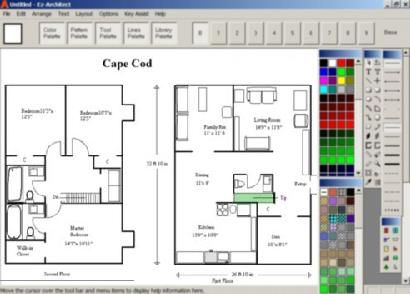 Ez-Architect for Windows Vista and Windows 7, 8, 10 is accurate and easy to use home design software!