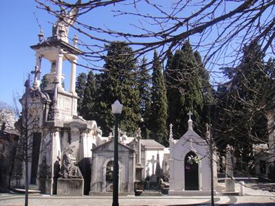 spots to visit in lisbon, portugal: Cemetery of Pleasures Cemitério dos Prazeres 3 Lisbon