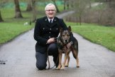 PC David Wardell with dog Finn [Picture PA]