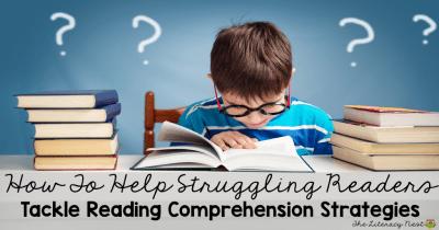 reading comprehension strategies for struggling readers