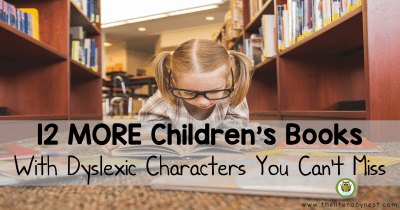 children's books about dyslexia