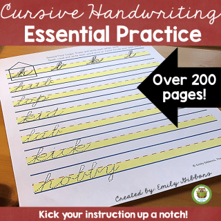 Handwriting resources