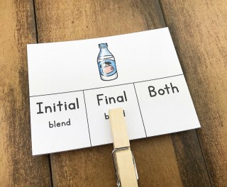 clip cards for consonant blends