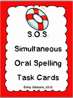 http://www.teacherspayteachers.com/Product/SOS-Multisensory-Spelling-Strategy-Task-Cards-978483