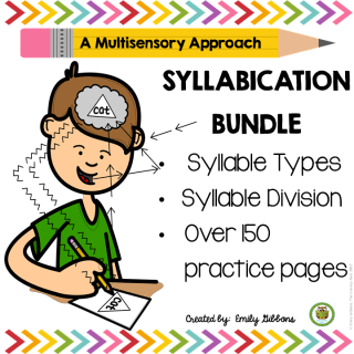 syllable activities