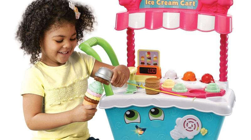 Scoop and Learn Ice Cream Cart