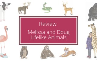 Melissa and Doug Lifelike Animals
