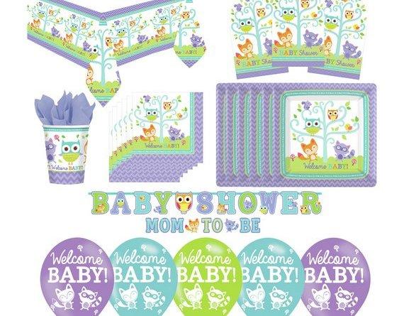 Baby Shower Woodland