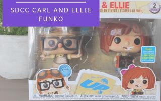 SDCC Carl and Ellie Funko