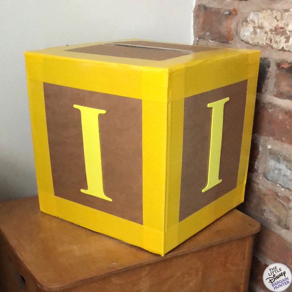 Finished Alphabet Letter Block