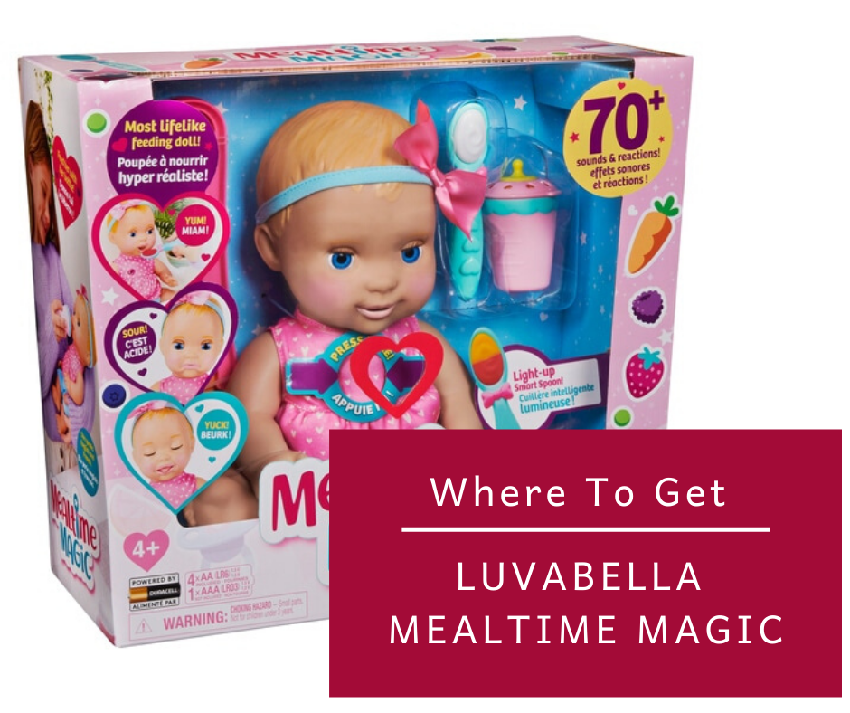 Luvabella Mealtime Magic