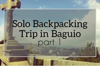 solo backpacker baguio