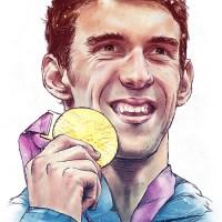 Jonathan López - Huevart, Michael Phelps
