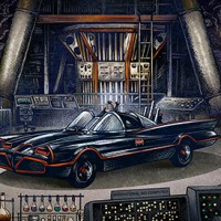 Batcave for Gallery 1988 by Chet Phillips