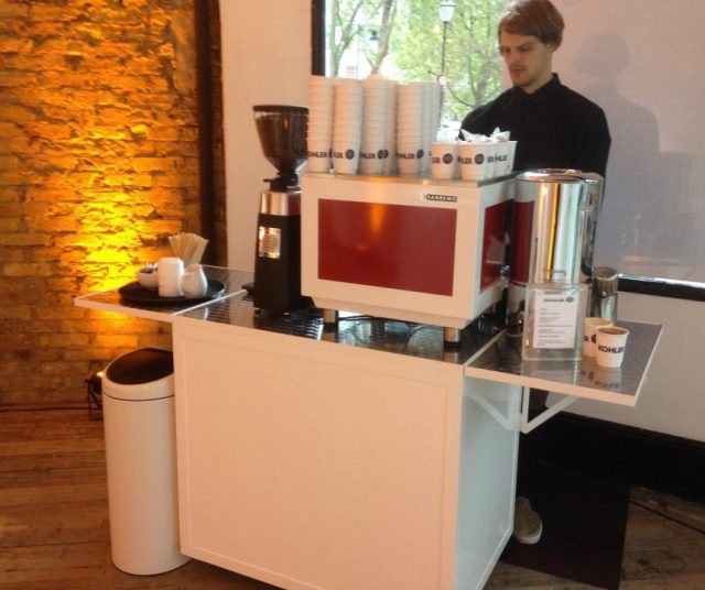 Barista Bar Hire
