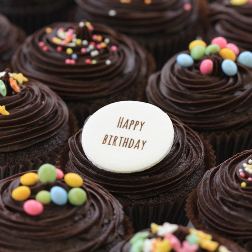 Happy Birthday Chocolate The Little Cupcake Company