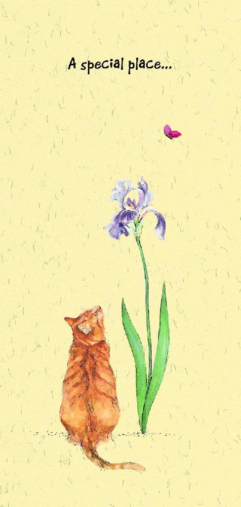 Magnificent Moggies Greeting Card Cat Condolence