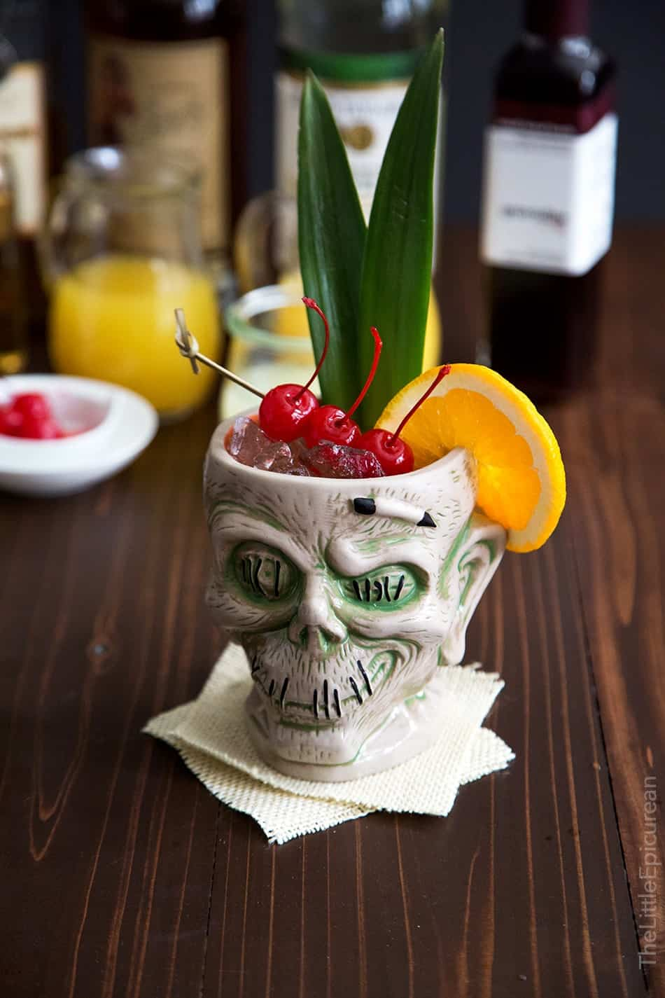 Image result for the zombie cocktail