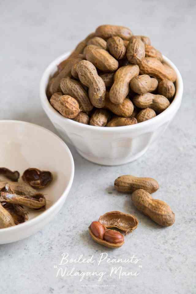 Boiled Peanuts (Nilagang Mani)
