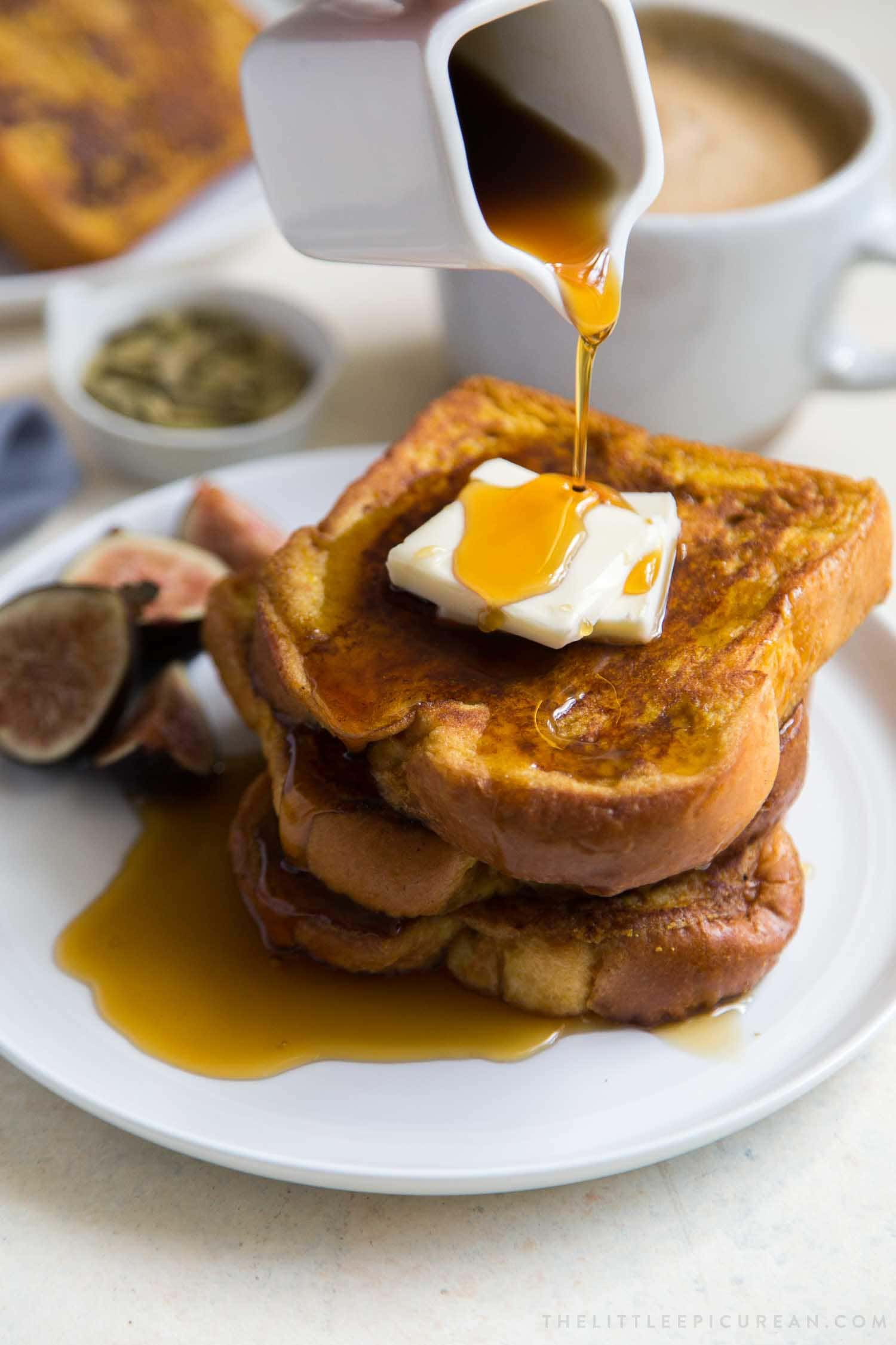 Pumpkin French Toast The Little Epicurean