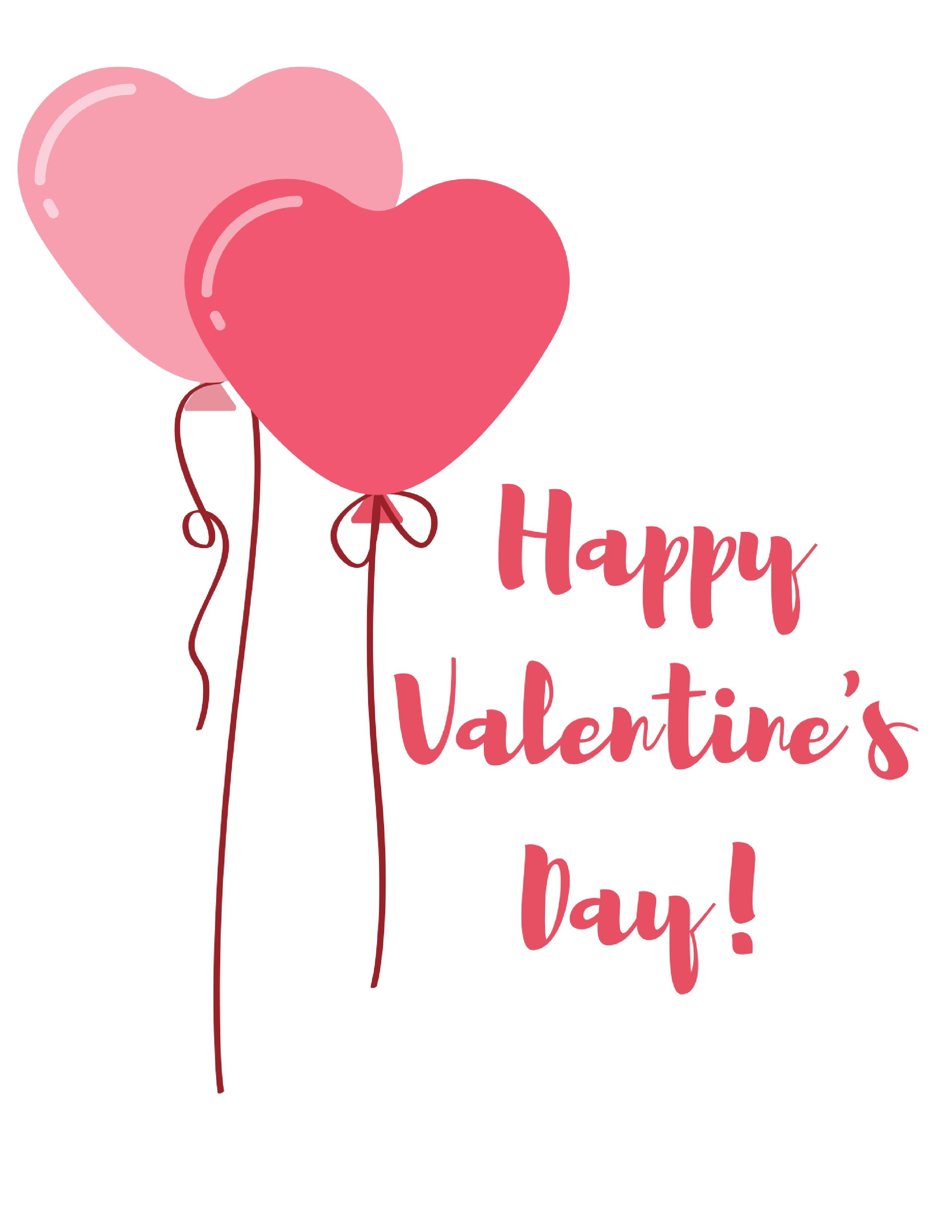 5 Free Valentine S Day Printables