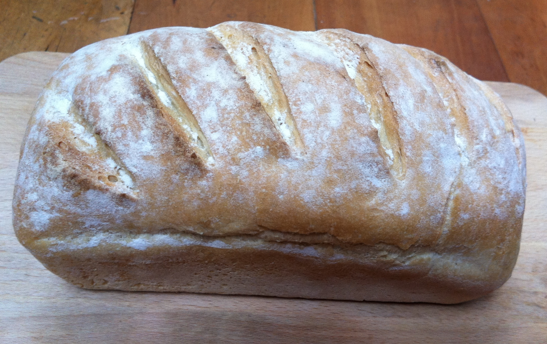 Simple White Tin Loaf Thelittleloaf