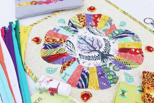 Mini Quilt | #AussieTulaPinkSwap|Gifted