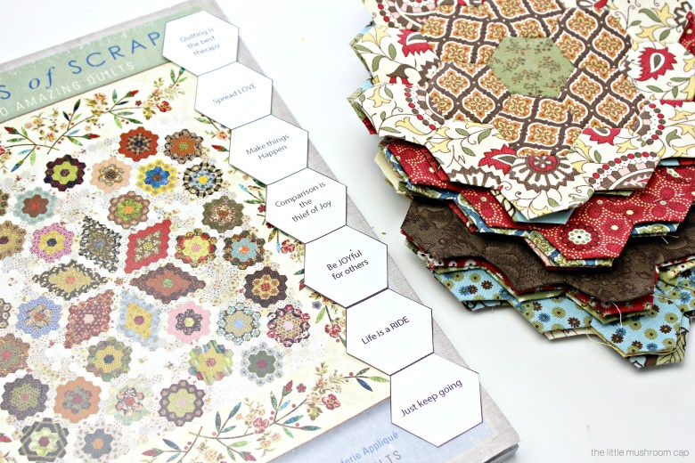 Free Printable Hexagon English Paper Piecing Template