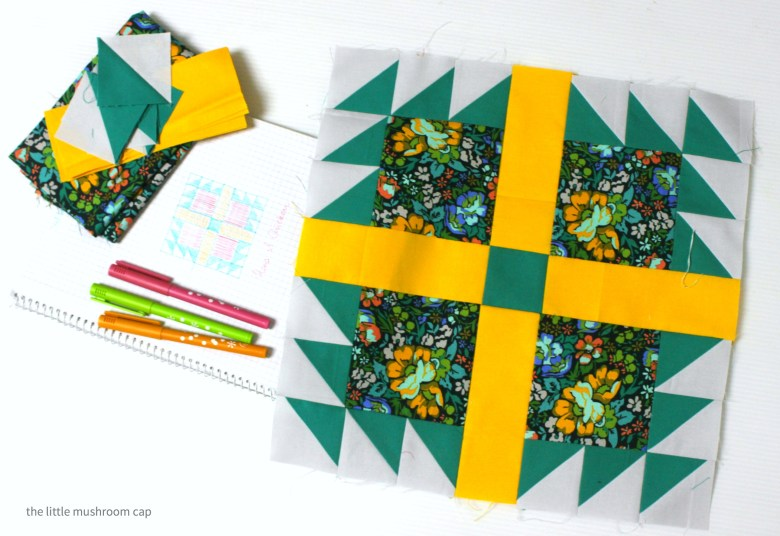 Quilting Tutorial: How to make lots of half square triangles quickly, easy and accurate