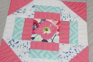 Sewcial Bee Sampler Quilt As You Go with the little mushroom cap video and tips