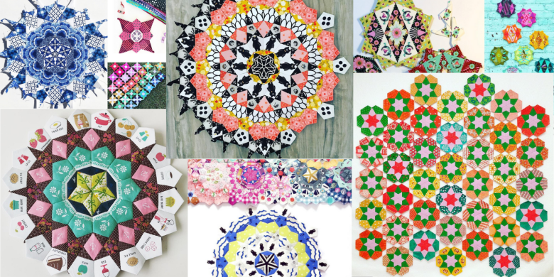 English Paper Piecing Hot Quilting Trend