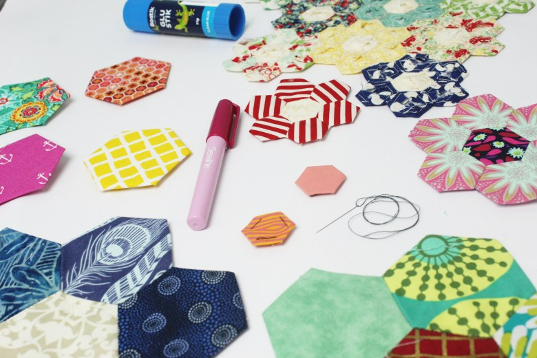 5 Ways to Baste English Paper Piecing Templates