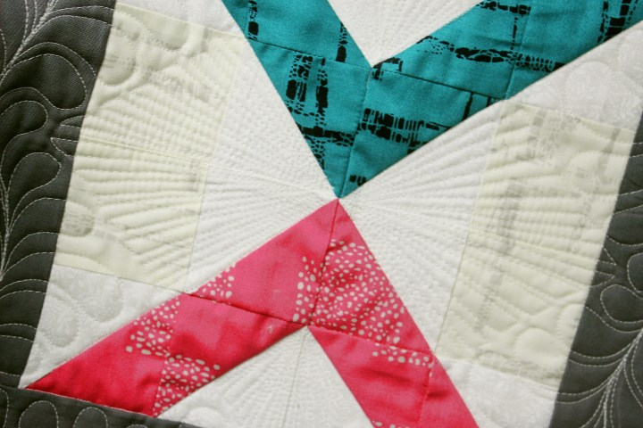 secondary pattern from quilting