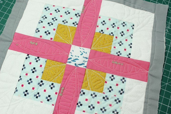 custom quilting on a domestic machine