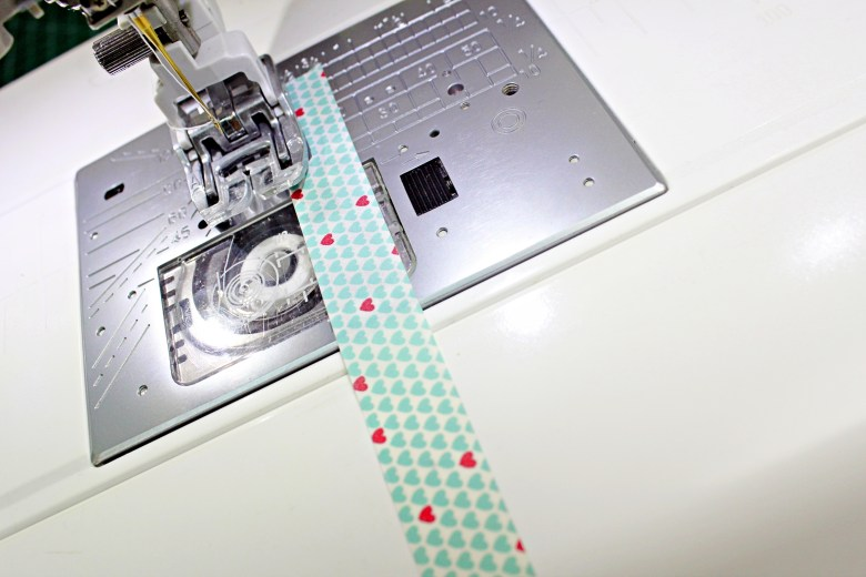 Sewing room tip : 5 functional ways to use washi tapes