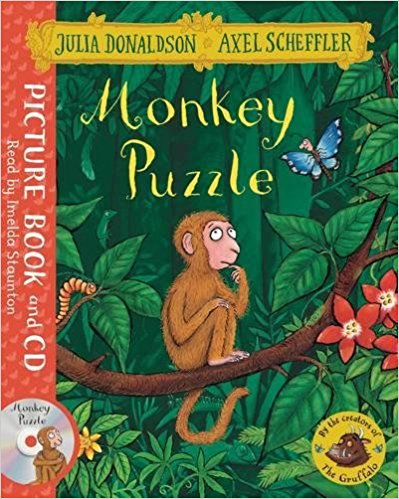 monkey puzzle with cd